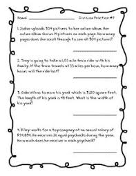 Word problems, Task cards and Multiplication on Pinterest