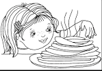 Раскраски для детей на масленицу