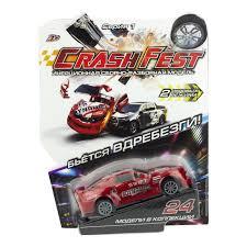 <b>CrashFest</b> Dynamic машинка инерционная разборная 2 в 1 <b>1 Toy</b> ...