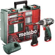 Купить <b>шуруповерт Metabo PowerMaxx BS</b> Basic Set (600080880 ...