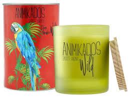 Купить <b>Свеча ароматическая Ambientair Parrot</b> - цитрусовый Wild ...
