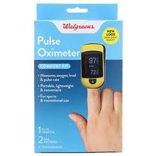 Walgreens <b>Fingertip</b> Pulse <b>Oximeter</b> | Walgreens