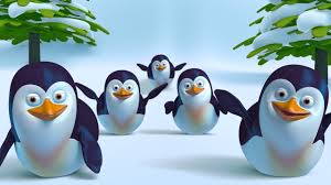 Five <b>Little Penguins</b> Song + More Funny <b>Cute</b> 3D Baby Penguin ...