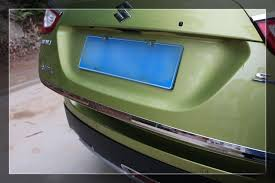 Декоративная <b>накладка на кромку багажной</b> двери SX4