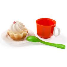 <b>Игрушечный</b> чайный <b>набор ОГОНЕК</b> с кексом купить в интернет ...