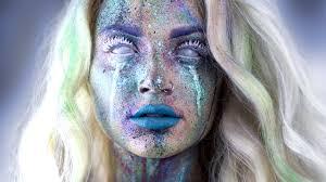 avant garde splatter makeup tutorial youtube avant garde