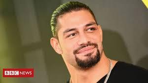 <b>WWE's Roman Reigns</b> gives up title due to leukaemia - BBC News