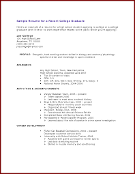 method resume sample for college students for job application new 19 resume samples for college students no experience resume samples for