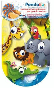 <b>Коврик</b> для ванны <b>Pondo</b> Kids, 69*39см африка: характеристики ...
