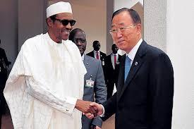 Buhari and Ban ki Moon
