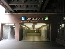 Berlin Bundesplatz station
