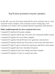 topstoreassistantresumesamples conversion gate thumbnail jpg cb