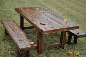 farmhouse rustic dining table