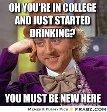 The Evolution Of Drinking In College | The Odyssey via Relatably.com