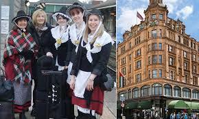 Harrods refuses to allow six <b>women dressed</b> in Welsh <b>national</b> ...