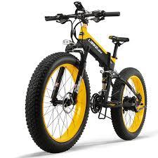 <b>LANKELEISI XT750Plus</b> Electric Bike Bicycle <b>48V</b> 12.8AH 500W ...