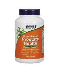 Now Foods <b>Clinical Strength Prostate Health</b> 180 Softgels