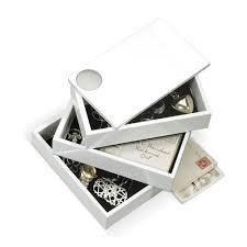 <b>Шкатулка spindle белая</b> Белый купить в интернет-магазине ...