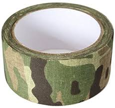 <b>Bushcraft</b> CL1523 Unisex's Fabric MTP <b>Camo</b> Tape, Multi-Colour, 5 ...