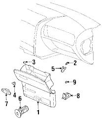 parts com® chevrolet trailblazer glove box oem parts 2004 chevrolet trailblazer ls l6 4 2 liter gas glove box