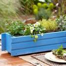 Как сделать деревянный ящик для цветов