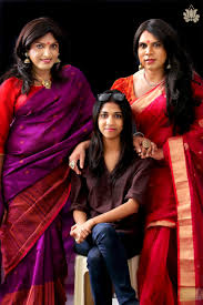this fashion designer s shoot for her latest collection features kerala based fashion designer sharmila nair decided to dedicate her latest sari collection to the transgender community