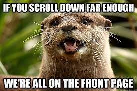 Optimistic Otter - Thank you RES : AdviceAnimals via Relatably.com