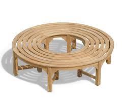 Saturn Teak <b>Circular Tree Bench</b> – <b>160cm</b> | Lindsey Teak