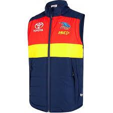 Adelaide Crows <b>2019 Mens</b> Padded <b>Vest</b> / AC19VST01M