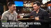 '<b>Conor is a</b> typical Irish guy' - Russian rugby captain Vasily Artemyev ...