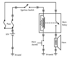 horn wiring diagram relay wiring diagram relay wiring diagram for horn electronic circuit