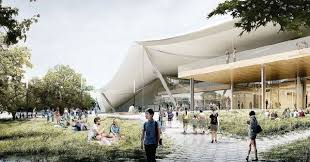 big and heatherwick unveil scaled down designs for googles mountain view hq big heatherwick futuristic google hq