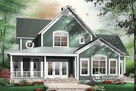 House plan W detail from DrummondHousePlans comRear view   BASE MODEL bedroom Country Cottage  master suites one   private