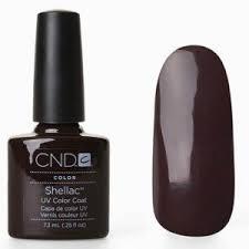 <b>CND Shellac Fedora</b> Gel Nail Polish – 7.3 ml - Buy Online in ...