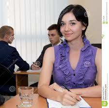 female office administrator stock photo image  female office administrator