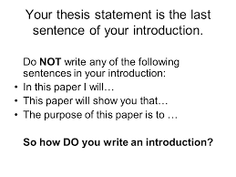 lord of the flies character analysis thesis statement for an  your thesis statement is the last sentence of your introduction do not write any of
