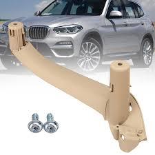 Beige <b>Car Interior Door Handles</b> Door Handle Inner Part Trim Cover ...