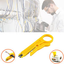 wire stripper knife cable stripping electrician patent hook fixed blade tools