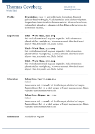 blue line yet another % cv template basic cv template