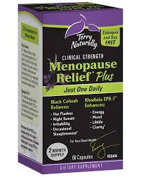 Menopause Relief* PLUS - EuroPharma - Terry Naturally Vitamins