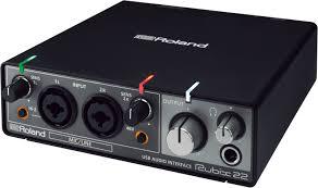 <b>Студийная звуковая карта</b> Roland Rubix, RUBIX22