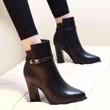 <b>Women</b> Ankle Boots Platform Stilettos leather <b>Dropshipping Women</b> ...