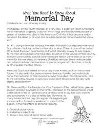 memorial day essay prompts  memorial day essay prompts