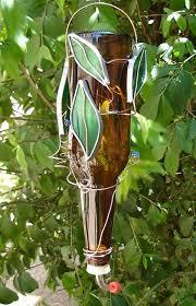planter hummingbird feeder patio container