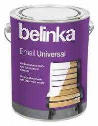<b>Эмаль</b> Универсальная <b>Belinka Email</b> Universal 2.7л Белая ...