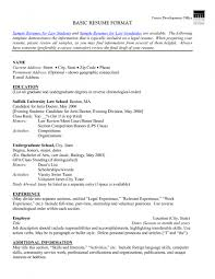 resume for part time job student sample