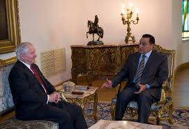 u s department of defense photo essay u s defense secretary robert m gates talks ian president hosni mubarak at the presidential