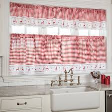 floral kitchen cafe curtains