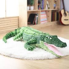 39.4 100cm <b>Large</b> Stuffed Animal Simulation Alligator Plush Toy ...