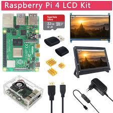 Raspberry Pi <b>4</b> Модель B <b>игровой комплект</b> + 2,4G беспроводные ...